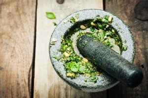 Don't hold your anger in – make pesto!