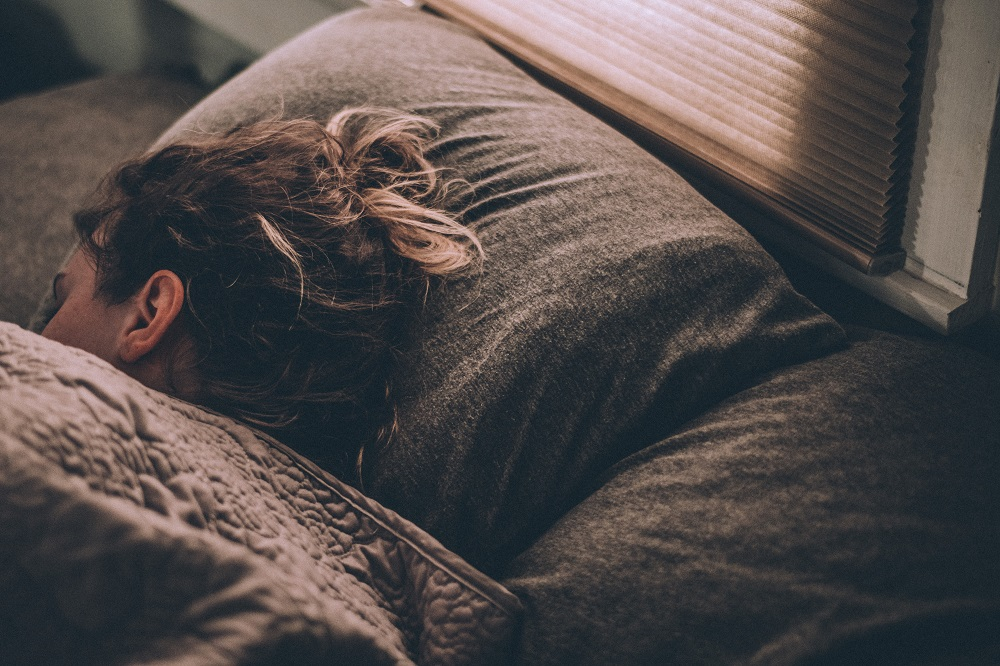 Deep sleep reduces anxiety