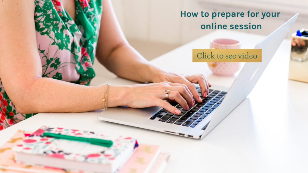 How to set up for your online therapy session with Sarah Tuckett Psychotherapy and Counselling North Brisbane